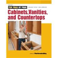 Cabinets, Vanities & Countertops by Fine Homebuilding, 9781631861611