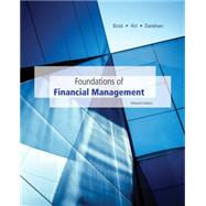 Foundations of Financial Management 15th Edition by Block, Stanley; Hirt, Geoffrey; Danielsen, Bartley, 9780077861612