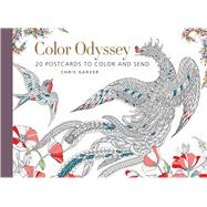 Color Odyssey (Postcard Book) 20 Postcards to Color and Send by Garver, Chris, 9781942021612
