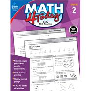 Math 4 Today, Grade 2 by Moore, Jeanette, 9781483841618