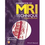 Handbook of MRI Technique by Westbrook, Catherine, 9781118661628
