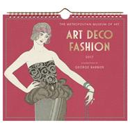 Art Deco Fashion 2017 Wall Calendar by Metropolitan Museum of Art, The; Barbier, George, 9781419721632