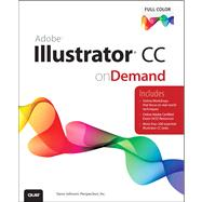 Adobe Illustrator CC on Demand by Perspection Inc.; Johnson, Steve, 9780789751645