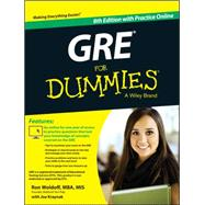 Gre for Dummies: With Online Practice Tests by Woldoff, Ron; Kraynak, Joseph, 9781118911648