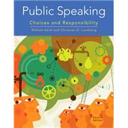 Public Speaking by William/Lundberg, 9781305261648