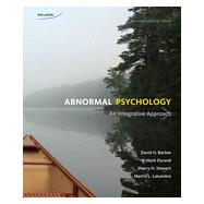 Abnormal Psychology: An Integrative Approach, 4th Edition by Barlow/Durand/Stewart/Lalumiere, 9780176531652