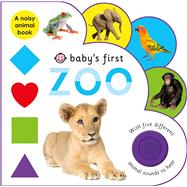 Baby's First Sound Book: Zoo by Priddy, Roger, 9780312521653