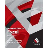 Introduction to Excel by Kuncicky, David C.; Larsen, Ronald W., 9780136081654