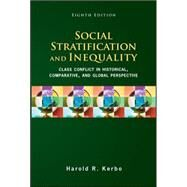 Social Stratification and Inequality by Kerbo, Harold, 9780078111655