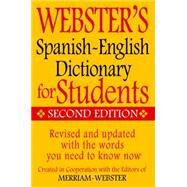 Webster's Spanish-english Dictionary for Students by Merriam-Webster, 9781596951655