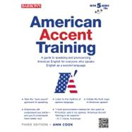 American Accent Training with 5 Audio CDs by Cook, Ann, 9781438071657