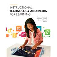 Instructional Technology and Media for Learning, Loose-Leaf Version with Enhanced Pearson eText -- Access Card Package by Smaldino, Sharon E.; Lowther, Deborah L.; Mims, Clif; Russell, James D., 9780133831658