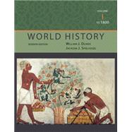 World History, Volume I: To 1800 by Duiker, William J.; Spielvogel, Jackson J., 9781111831660
