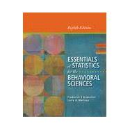 Bundle: Essentials of Statistics for the Behavioral Sciences, 8th + Aplia 1-Semester Printed Access Card, 8th Edition by Gravetter/Wallnau, 9781285481661