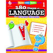 180 Days of Language for First Grade by Dugan, Christine, 9781425811662
