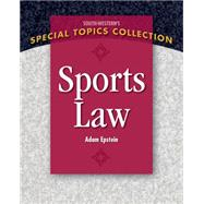 Sports Law by Epstein, Adam, 9781111971663