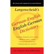 German-English Dictionary, Second Edition by Langenscheidt, 9781439141663