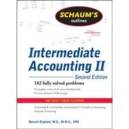 Schaum's Outline of Intermediate Accounting II, 2ed by Englard, Baruch, 9780071611664