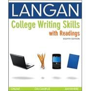 College Writing Skills With Readings by Langan, John, 9780073371665