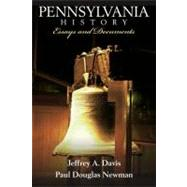 Pennsylvania History: Essays and Documents by Davis; Jeffrey A., 9780205701667