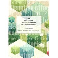 The Broadview Pocket Glossary of Literary Terms by Buzzard, Laura; Lepan, Don, 9781554811670