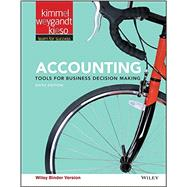 Accounting - Binder Ready Version by Kimmel, Paul D., Ph.D.; Weygandt, Jerry J.; Kieso, Donald E., Ph.D., 9781119191674