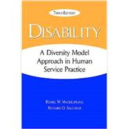 Disability: A Diversity Model Approach in Human Service Practice by MACKELPRANG, 9781935871675