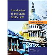 Introduction to the Study of U.s. Law by Klonoff, Robert, 9781628101676