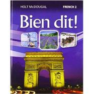 Holt Mcdougal Bien Dit! : Student Edition Level 2 2013 by Holt Mcdougal, 9780547871677