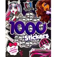 Monster High 1000 Stickers by Parragon, 9781472351678