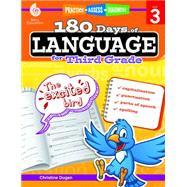 180 Days of Language for Third Grade by Dugan, Christine, 9781425811686