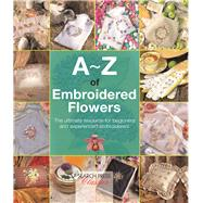 A-Z of Embroidered Flowers by Bumpkin, Country, 9781782211686