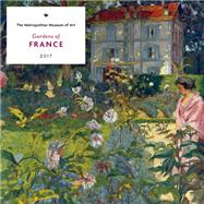 Gardens of France 2017 Wall Calendar by Metropolitan Museum of Art, The, 9781419721687
