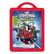 Spider-Man: An Amazing Book and Magnetic Play Set by Marvel Press Book Group; Marvel Press Book Group, 9781484761687