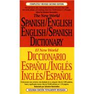 The New World Spanish-English, English-Spanish Dictionary Completely Revised Second Edition by Ramondino, Salvatore, 9780451181688