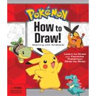 Pokemon How-to-Draw! Kit by Pokeman Company International, 9781604381689