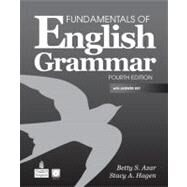 Fundamentals of English Grammar with Audio CDs and Answer Key by Azar, Betty Schrampfer; Hagen, Stacy A., 9780137071692
