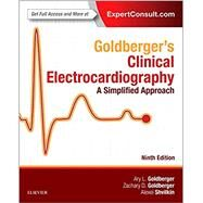 Goldberger's Clinical Electrocardiography: A Simplified Approach by Goldberger, Ary L., 9780323401692