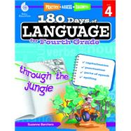 180 Days of Language for Fourth Grade by Barchers, Suzanne, 9781425811693
