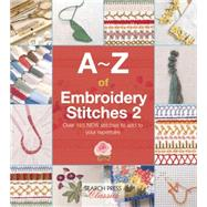 A-Z of Embroidery Stitches 2 by Bumpkin, Country, 9781782211693