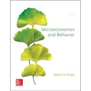 Microeconomics and Behavior by Frank, Robert, 9780078021695