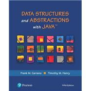 Data Structures and Abstractions with Java by Carrano, Frank M.; Henry, Timothy M., 9780134831695