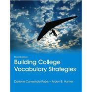Building College Vocabulary Strategies Plus MyLab Reading -- Access Card Package by Pabis, Darlene C.; Hamer, Arden B., 9780321901699