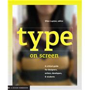 Type on Screen by Lupton, Ellen, 9781616891701