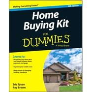 Home Buying Kit for Dummies by Tyson, Eric; Brown, Ray, 9781119191704