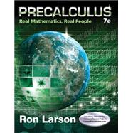 Precalculus Real Mathematics, Real People by Larson, Ron, 9781305071704