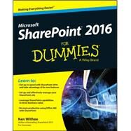 Sharepoint 2016 for Dummies by Withee, Ken, 9781119181705