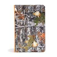 CSB Sportsman's Bible: Large Print Personal Size Edition, Mothwing Camouflage LeatherTouch by CSB Bibles by Holman, 9781433651717