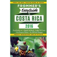 Frommer's EasyGuide to Costa Rica 2016 by Greenspan, Eliot, 9781628871722