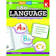 180 Days of Language for Kindergarten by Dugan, Christine, 9781425811723